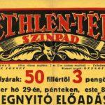 Plakát_részlet_Bethlen nyitó előadás 1929