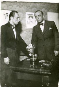 Tíz perc alibi, Bánhidy László – Sármássy Miklós 1935. Fotó: Solty Kató