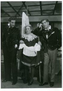 Trilby, Berczy Géza – Simon Marcsa – Czobor Imre 1934. Fotó: Wellesz Ella