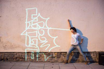 Dancing Graffiti, fotó: Mark Loudon