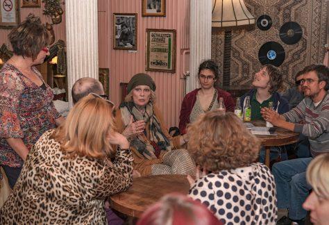 Tordai Teri közönségtalálkozón, fotó: Molnár Miklós